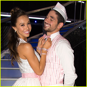 Alexis Ren & Alan Bersten Perform A High-Stepping Jive on 'Dancing With The Stars'