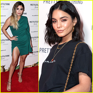 Ally Brooke Joins Vanessa Hudgens at Pretty Little Thing Fashion Event