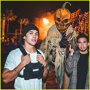 Austin Mahone Wants to Work at Universal Studios' 'Halloween Horror Nights!'
