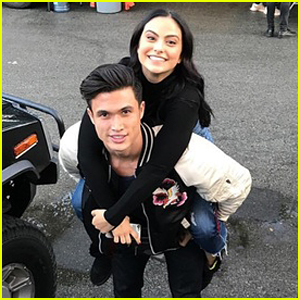Riverdale's Camila Mendes & Charles Melton Get Fans Talking About Possible Relationship