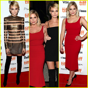 Ashley Benson Is Red Hot at 'Her Smell' TIFF Premiere with Cara Delevingne!