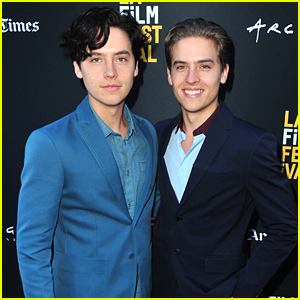 Cole Sprouse Supports Twin Dylan at 'Banana Split' Premiere