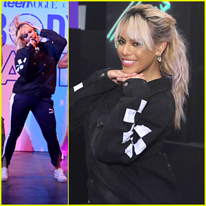 Dinah Jane Performs Debut Single 'Bottled Up' at Teen Vogue's Body Party