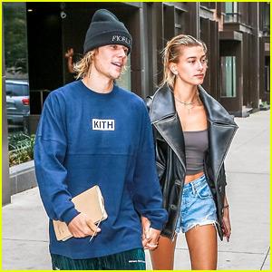 Justin Bieber & Hailey Baldwin Emerge After Denying Wedding Rumors