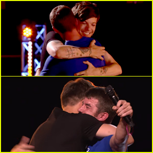 Louis Tomlinson Shares Emotional Moment with Anthony Russell During 'X Factor' Auditions