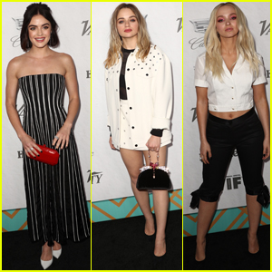 Lucy Hale Joins Joey King & Dove Cameron at Variety & Women in Film Pre-Emmy Party!