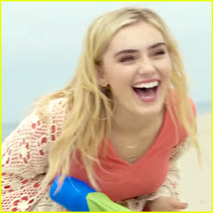 Meg Donnelly Has Fun Beach Date in New 'Smile' Music Video - Watch Now!