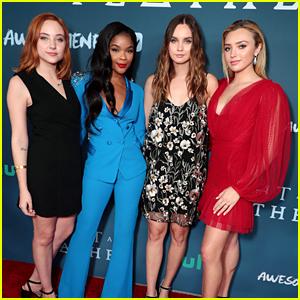 Peyton List, Ajiona Alexus, Liana Liberato & Haley Ramm Premiere 'Light As A Feather' in LA