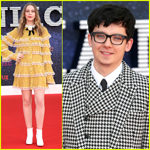 Sorcha Groundsell & Asa Butterfield Hit Up The 'Maniac' Premiere in London