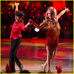 DWTS Juniors: Spelling Bee Champ Akash Vukoti & Kamri Peterson Wow With Fiery Cha Cha - Watch Now!