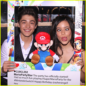 Asher Angel Celebrates 16th Birthday Party with Jenna Ortega, Peyton Elizabeth Lee & Many More in LA