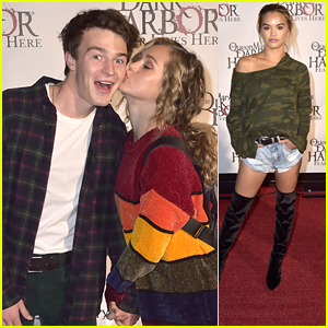Brec Bassinger, Paris Berelc & Loren Gray Hit Up Queen Mary's Dark Harbor Event
