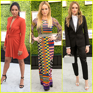 Candice Patton & Caity Lotz Speak About Shethority at CW's Fall Launch Event 2018