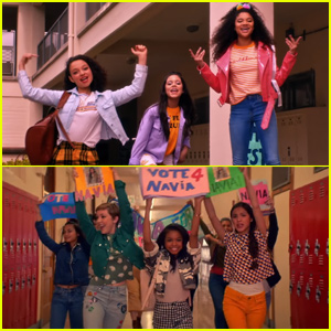 Raven Symone Teases 'Legendary' Music Video Featuring Navia Robinson, Jenna Ortega & More!