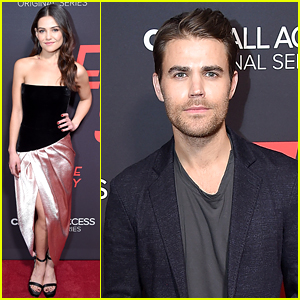 Paul Wesley & Danielle Campbell Hit the Red Carpet for 'Tell Me A Story' Premiere