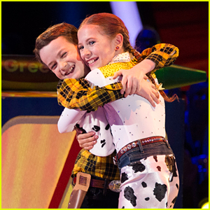DWTS Juniors: Jason Maybaum & Elliana Walmsley Are Toys Come To Life For Disney Night - Watch Now!