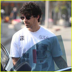 Joe Jonas Steps Out Solo After Cheering on the Dodgers