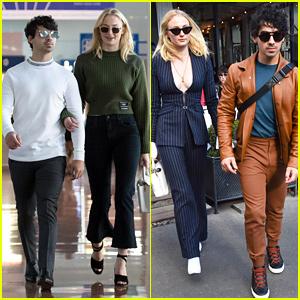 Sophie Turner & Joe Jonas Are So Stylish in Paris!