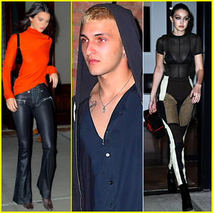 Kendall Jenner Joins Anwar & Gigi Hadid for Night Out in NYC!