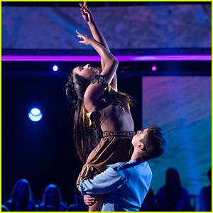 DWTS Juniors: Kenzie Ziegler Brings 'Colors Of The Wind' To Life For Disney Night - Watch Now!
