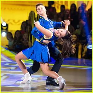 DWTS Juniors: Kenzie Ziegler & Sage Rosen Show School Spirit With A Quickstep - Watch Now!