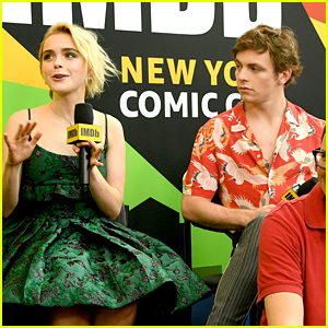 Kiernan Shipka, Ross Lynch & Chance Perdomo Bring 'Sabrina' To NYCC