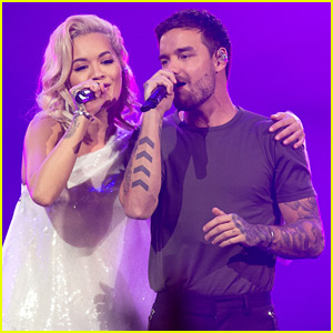 Liam Payne Reunites with Rita Ora for a Performance in London!