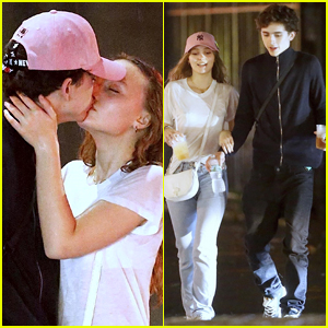Timothee Chalamet Kisses Lily-Rose Depp - See the New Pics!