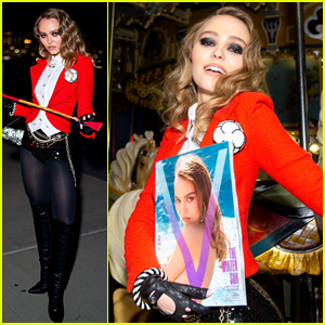 Lily-Rose Depp Debuts Her First Halloween Look of the Season!