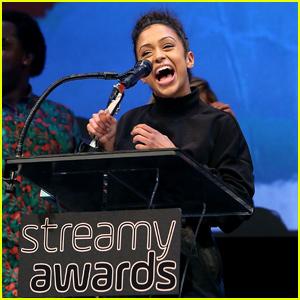 Liza Koshy Helps Kick Off Streamys 2018 at Premiere Awards!