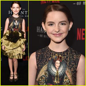 McKenna Grace Dances The Night Away at 'Haunting of Hill House' Premiere