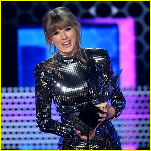 Taylor Swift Hints at New Music During AMAs Speech! (Video)