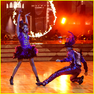 Tinashe & Brandon Armstrong Bring The Circus With a Cha Cha on 'Dancing With the Stars' Week #2