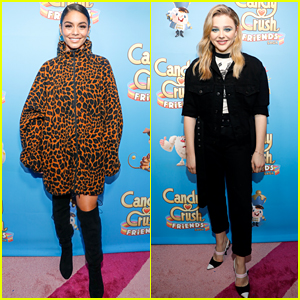 Vanessa Hudgens & Chloe Moretz Just Played a Video Game Like You Never Have Before!