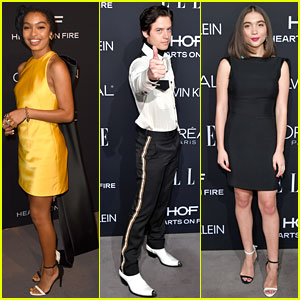 Yara Shahidi, Cole Sprouse, & Rowan Blanchard Join Forces at Elle's Women in Hollywood Celebration!
