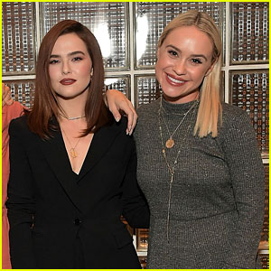 Zoey Deutch Hangs With Becca Tobin at 'LadyGang' Fall Podcast Event