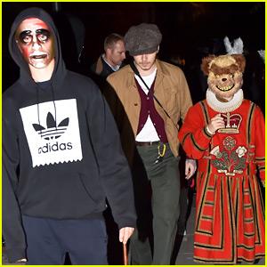 Brooklyn Beckham Dresses as Himself for Halloween