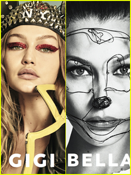 Gigi & Bella Hadid Pay Tribute to Mickey Mouse!