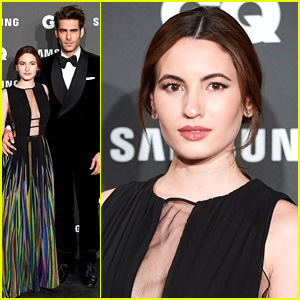 Ivana Baquero Joins 'High Seas' Co-Star Jon Kotajarena For GQ Men of the Year Awards in Madrid