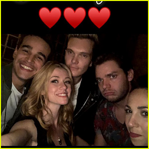 Katherine McNamara Celebrates Her 23rd Birthday with 'Shadowhunters' Family