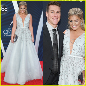 Lauren Alaina & Fiance Alex Hopkins Make a Perfect Couple at CMA Awards 2018!