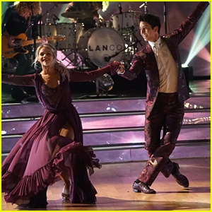 Milo Manheim & Witney Carson Foxtrot to LANCO's 'Born To Love You' on DWTS Week #7 - Watch Now!