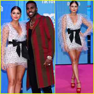 Sofia Reyes Reunites With Jason Derulo at MTV EMAs 2018!