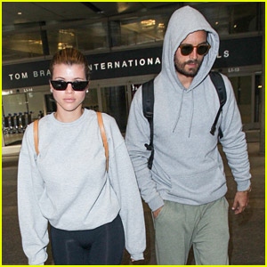 Sofia Richie Returns To LA From Australia with Scott Disick