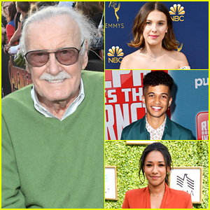 Millie Bobby Brown, Candice Patton, Jordan Fisher & More Pay Tribute To Stan Lee on Social Media