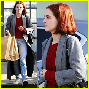 Zoey Deutch Debuts Shorter Red Hairdo While Stepping Out in LA!