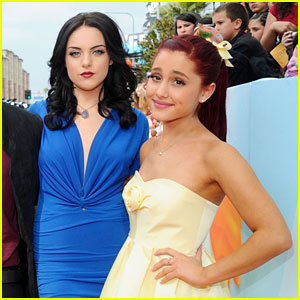 Ariana Grande & Elizabeth Gillies Used to Kiss on 'Victorious' Set - Here's Why!