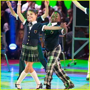 Ariana Greenblatt & Artyon Celestine Dance to 'High School Musical' on 'DWTS Juniors' Semi-Finals - Watch Now!