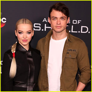 Dove Cameron & Thomas Doherty Seemingly Hack Each Other's Phones!