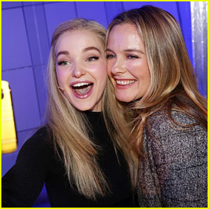 Dove Cameron & Original Cher Alicia Silverstone Snap a Selfie at 'Clueless 'Musical!